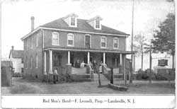 Red Men's Hotel - F Leonelli, Prop, S.E. Boulevard & Willow St., Landisville