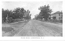 State Road (Rt. 40) looking west, Landisville