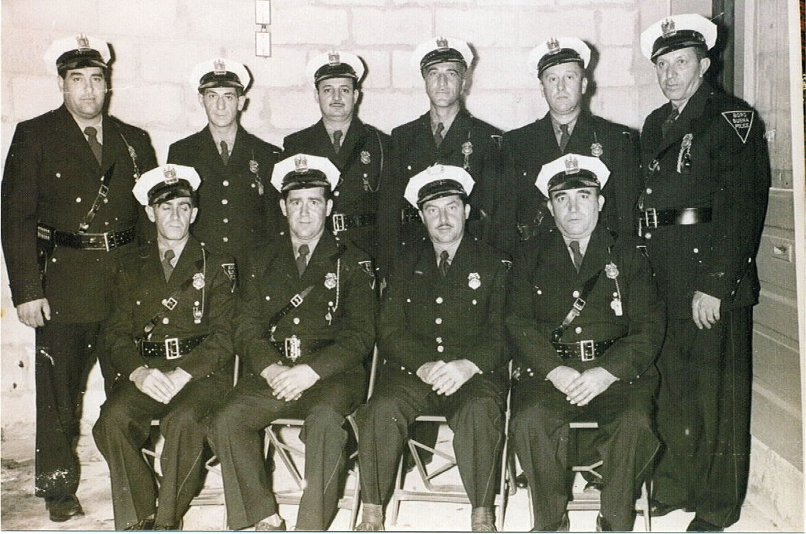 First Buena Borough Police Deptartment (1950)